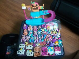 Kawaii Crush Lot Of 11 Dolls, 11 Animals/Pets, Playset & A Bunch Of Accessories!