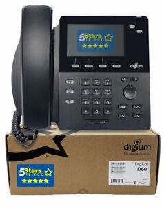 Digium D60 IP Phone (1TELD060LF) - Brand New, 1 Year Warranty