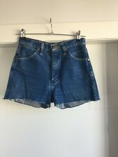 NWT Reformation Vintage Wrangler Denim Blue Jean Shorts Size 25 Perfect Summer