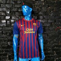 Barcelona Barca Jersey Home football shirt 2011-2012 Nike 419877-488 Mens Size L