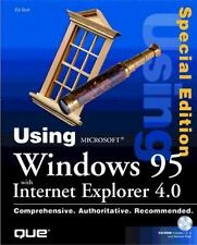 Using Microsoft Windows 95 with Internet Explorer 4.0 with CDROM (Using ... (Que