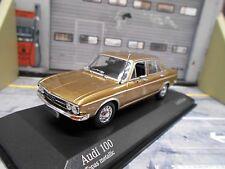 AUDI 100 Limousine MKI 1 1969 gold met. Minichamps 1:43