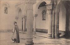 CPA ALGERIE ALGERIA SCENES ET TYPES 67 la prière dans la mosquée