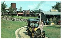 Chaparral Antique Cars Six Flags Over Texas Postcard