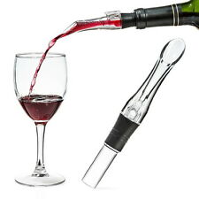 Portable Wine Aerator Bottle Pourer Decanter Red Clear Travel Air Acrylic Rubber