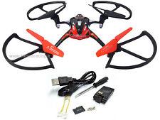DRONE QUADRICOTTERO AIRCRAFT VIDEOCAMERA HIMOTO 2.4GHZ FLY 360°LIPO 3,7V HI6052C