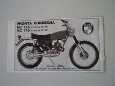 advertising Pubblicità 1972 MOTO PUCH MC 125/175