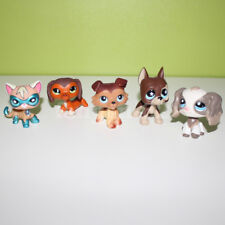Pet Shop toy lot LPS super cat dachshund collie great dane spaniel dog