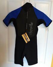 Hyperflex Wetsuits Junior Shorty Size 12 Access 2.5mm Neoprene/Nylon YKK Zipper