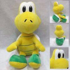 "Super Mario Bros Green Koopa Troopa Plush Stuffed Doll 8"""