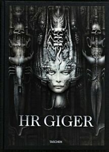 H.R.giger  signed and numbered J. Hirsch taschen limited edition book