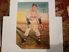 Georges Maranda Quebec Braves 1952 La Patric Album Sportif Poster Baseball