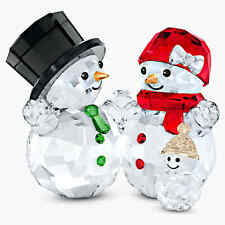 Swarovski Snowman Family (5533948) Figurine -