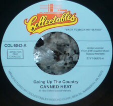 *<* 2 CANNED HEAT HITS GOING UP THE COUNTRY & ON THE ROAD AGAIN UNPLAYED MINT 45