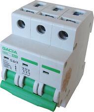 Leitungsschutzschalter GACIA SB6L 3P B32A, Sicherungsautomat MCB
