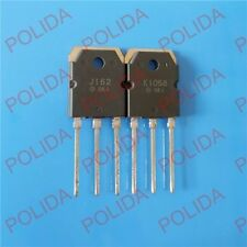 1pair  Transistor HITACHI TO-3P 2SJ162/2SK1058 J162/K1058 100% Genuine and New
