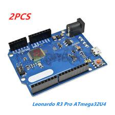 2PCS Leonardo R3 ATmega32U4 16M Microcontroller USB for Arduino without Cable