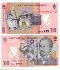 Romania 10 lei 2008 FDS UNC  pick 119b   lotto 2414