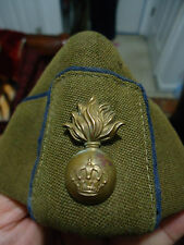 Original Iraqi Royal Artillery Forces DRESS HAT with Pin Badge. Extreme Rare