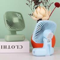 Mini USB Desktop Fan 3 Speed Traveling Portable Cooling Fan