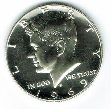 1969 San Francisco Proof Silver Strike JFK Half Dollar Coin!