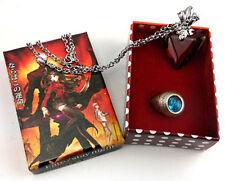 Anime Fate Stay Night Fate Zero Archer Master Tohsaka Rin Necklace + Ring Set