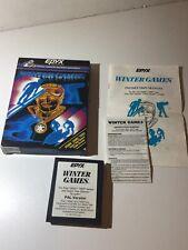 Winter games  Atari 2600/7800 Complete