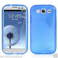 Coque S semi-rigide en TPU pour Samsung Galaxy S3 i9300