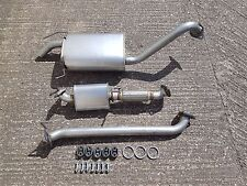 MAZDA BONGO 2.5TD 95-03 COMPLETE 3 PART EXHAUST SYSTEM inc. FITTINGS