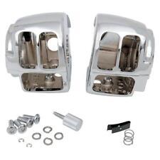 Drag Chrome Switch Housing Kit for Harley 96-10 Softail 96-11 Dyna 0616-0141