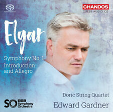 Doric String Quartet Edward Gardner BBC Symphony - Elgar Symphony No. 1 SACD CD