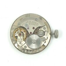 RARE WELSBRO 1051 SWISS 17 JEWEL MANUAL WIND WATCH MOVEMENT FOR PARTS OR REPAIR