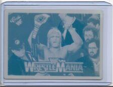1/1 HULK HOGAN 1990 CLASSIC CARDS PRINTING PRESS PLATE WF WWE WRESTLING 1 of 1
