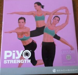 PiYO Live Round 33 DVD Workout Fitness Exercise Pilates Yoga CD Core Strength