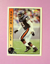 1992 PACIFIC FOOTBALL TRADING CARD #36 - CHICAGO BEARS - SHAUN GAYLE - MINT