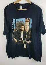 Cody Simpson Acoustic Sessions Mens European Tour T Shirt Extra Large XL Black