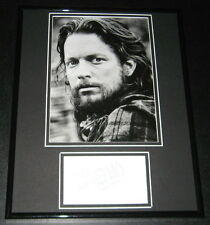 Eric Stoltz Signed Framed 11x14 Photo Display