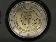 2 EURO COMMEMORATIVO BELGIO 2012 75° ANNIVERSARIO CONCORSO REGINA ELISABETTA