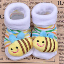 Hot Baby Girl Newborn Unisex Anti-slip Warm Socks Animal Shoes Boots 0-6 Months