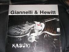 GIANNELLI & HEWITT - KABUKI (1984) MINT  LP/RECORD + Companion CD