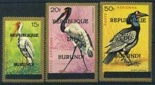 Burundi 1967 Mi. 278-280 MNH 100% Birds, Republique du Burundi