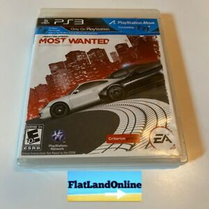 Need for Speed: Most Wanted -- Limited Edition (Sony PlayStation 3, 2012) PS3 EA