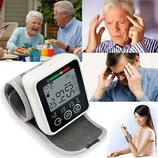 Digital LCD Wrist Blood Pressure Monitor+Heart Beat Rate Pulse Meter Measure XG