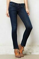 AGOLDE 26 Jeans Chloe Skinny Ankle Low Mid Rise Dark Wash Whiskered