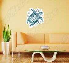 "Sea Turtle Tribal Wall Sticker Room Interior Decor 22""X22"""