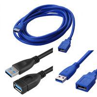 USB 3.0 Verlängerung Verlängerungskabel Stecker A an Buchse A SuperSpeed 0,5-3 m