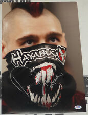 Dan Hardy Signed UFC 12x18 Photo PSA/DNA COA Picture Poster Autograph 111 120 99