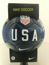 Soccer Ball-Nike-Size 5-Replica Ball-Usa Logo-Navy Blue In Color-New-In The Box-