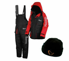 NEW IMAX THERMO SUIT 2PC SEA FISHING 100% WATERPROOF + FREE THERMAL HAT
