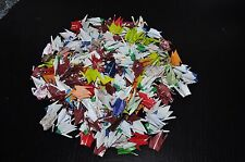 """100 ORIGAMI CRANES- 3"""" PAPERS BEAUTIFUL CHIYOGAMI /MULTI COLOR & PATTERNS"""